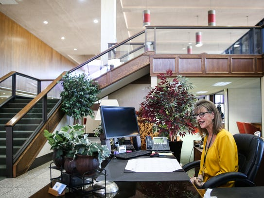 Vicky Porter, Sr. Administrative Assistant, moves into