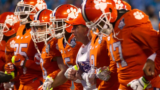 The Clemson Tigers vow to not be embarrassed in the Orange Bowl like they were in 2012.