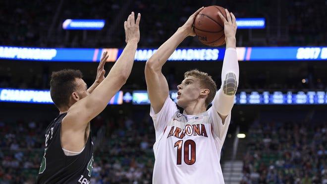 Arizona Wildcats forward Lauri Markkanen is headed to the NBA.