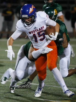 Michael Carner and Westlake High host small-school power Grace Brethren on Friday night in The Star's Game of the Week live at 7 p.m. at vcstar.com.