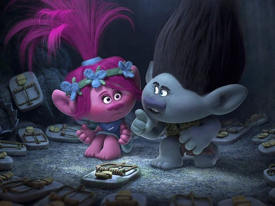 DFP trolls movie rev