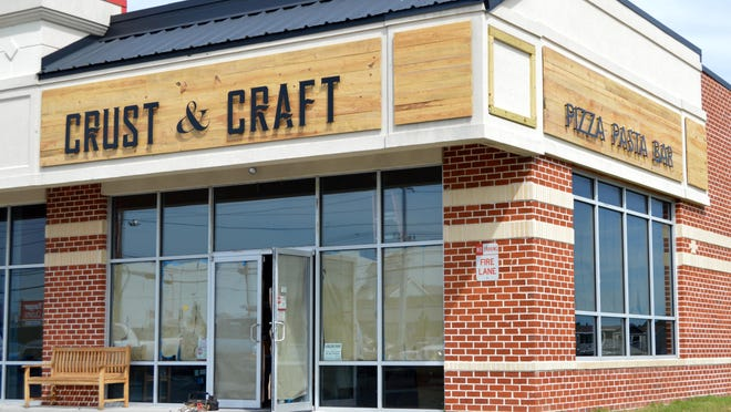 The final touches are being added to Rehoboth's newest eatery, Crust & Craft, set to open early October.