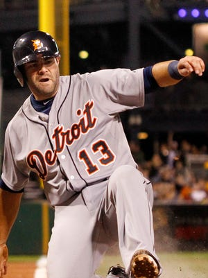 Detroit Tigers' Alex Avila.