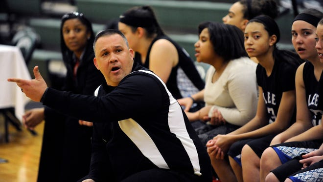 Josh McElheny steps down as Lee High's girls basketball coach.