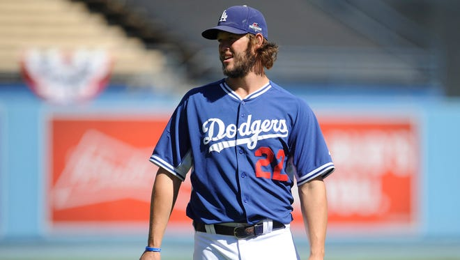Clayton Kershaw gets the nod to start Game 1 for the Dodgers.