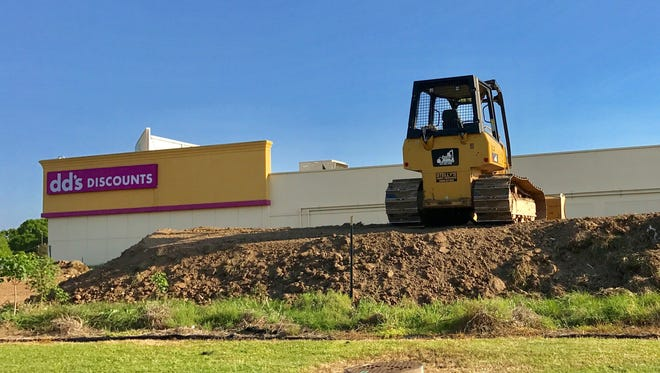 Dirt work at the site of the new Sonic Drive-In on W. Willow Street.