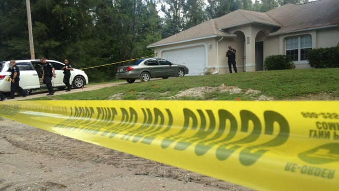Cape Coral police respond to a possible shooting at 959 SW 15th place.