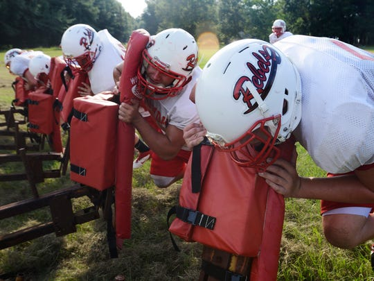 Lowndes Academy football file photo