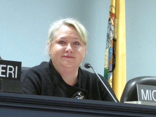 West Milford Mayor Michele Dale while council president in 2016.