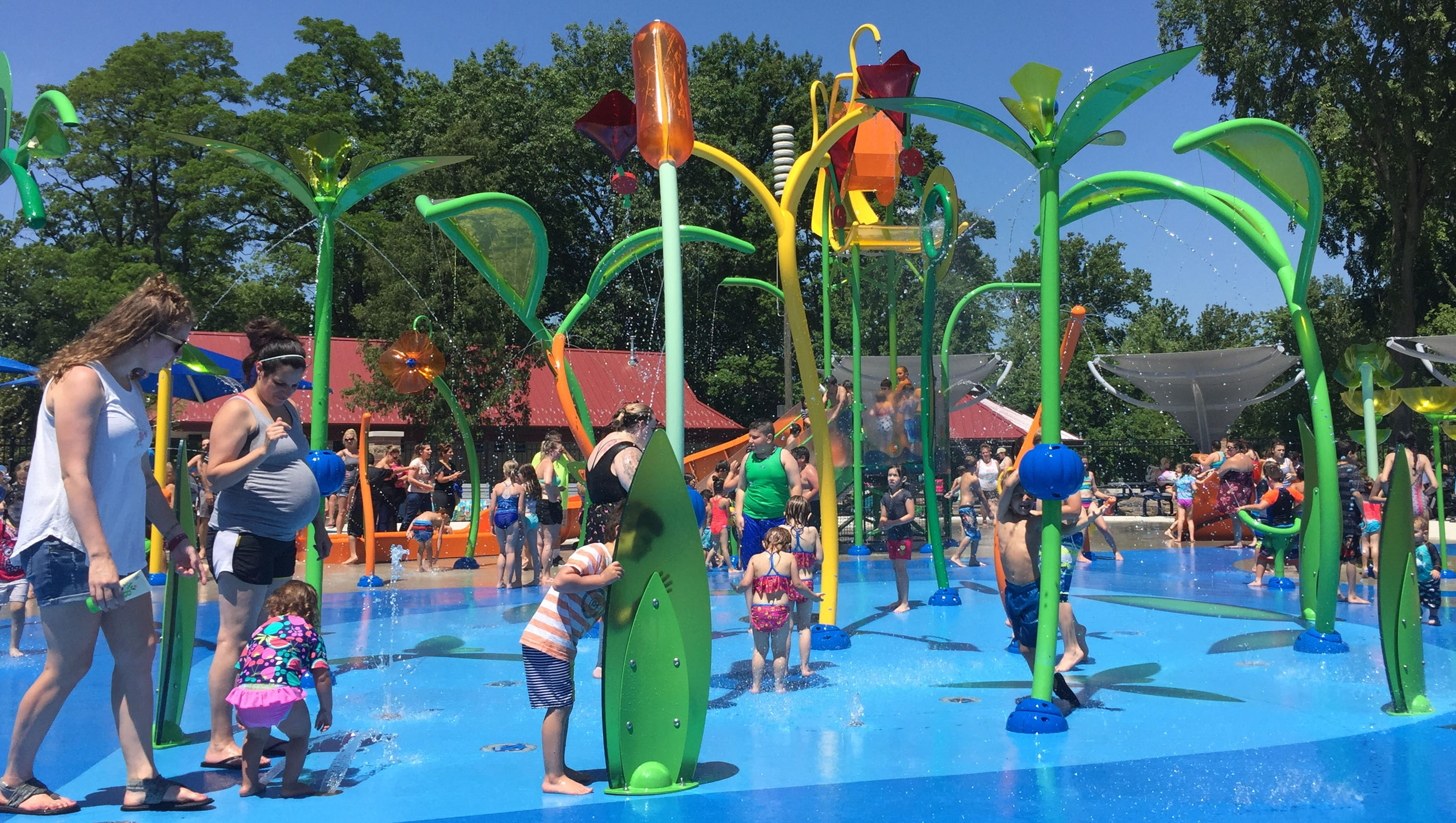 New splash pad in Sterling Heights a cool park upgrade