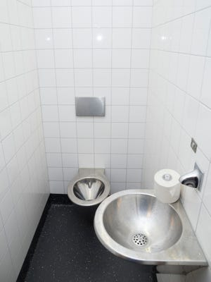 Stock image of a toilet.