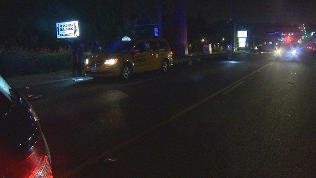 Pedestrian hit, killed by cab
