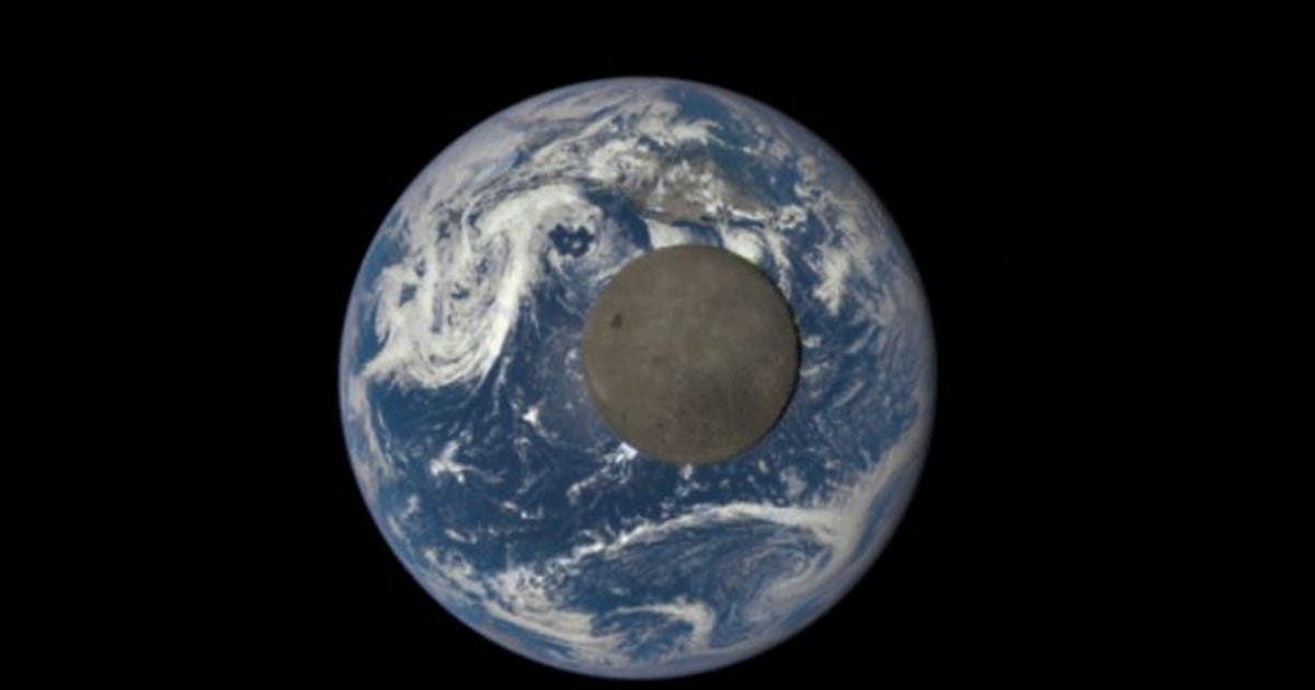 New NASA images show dark side of the moon