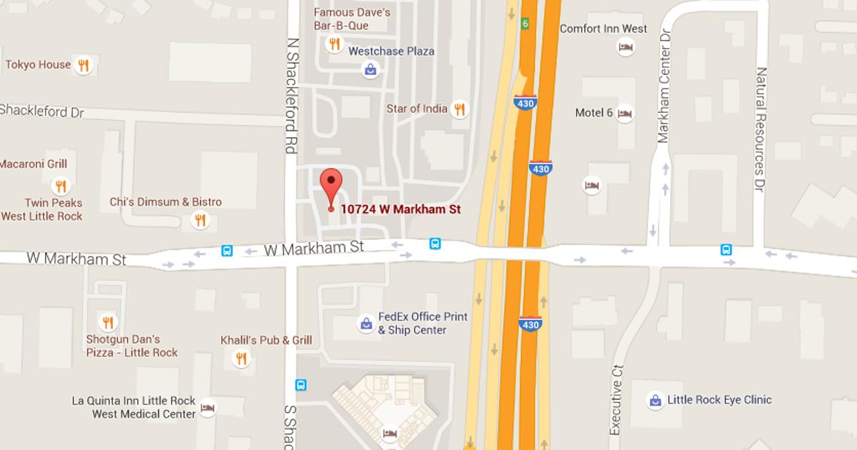 Argument leads to stabbing outside W Markham Street Exxon