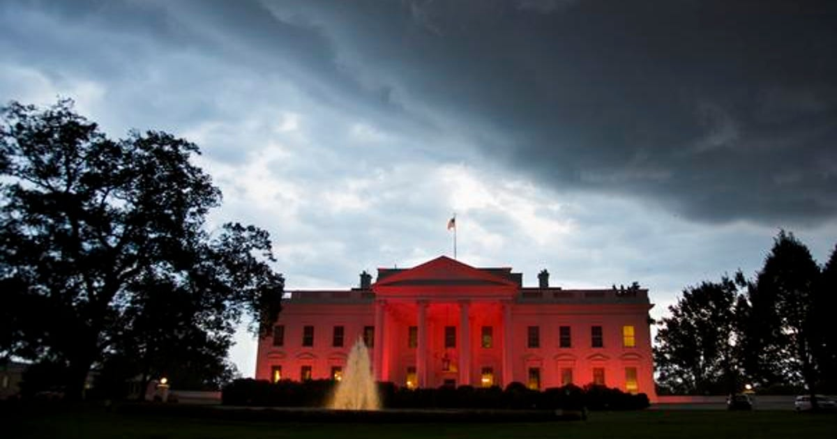 The White House Goes Pink For Breast Cancer Awareness Month