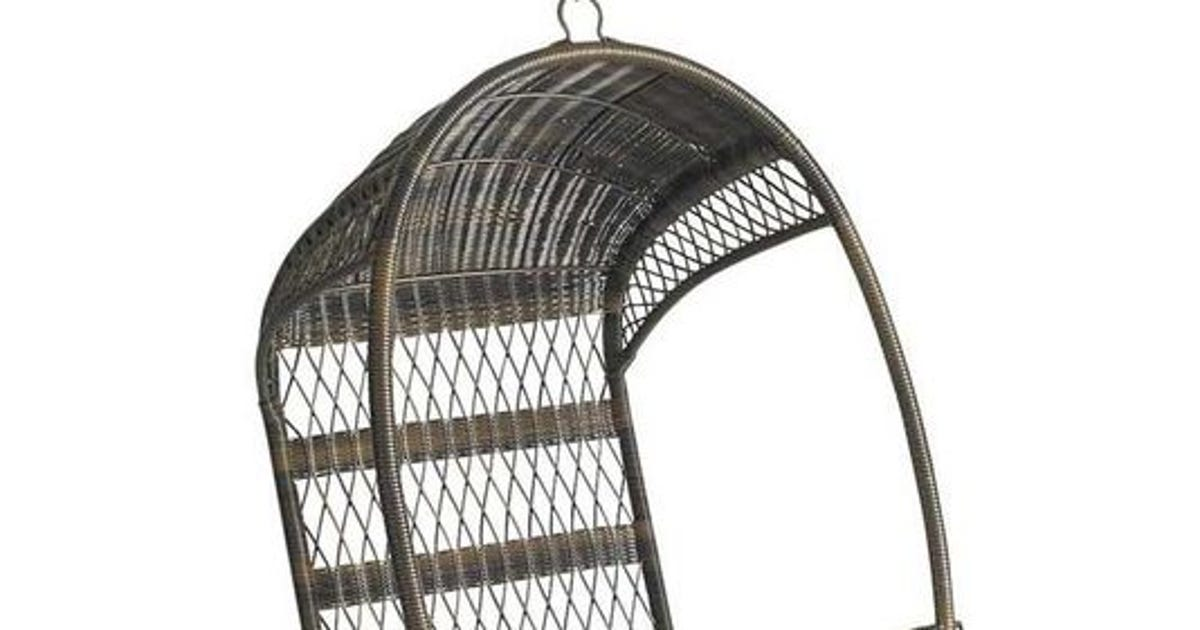 Pier 1 recalls 276K outdoor swing chairs due to fall risk
