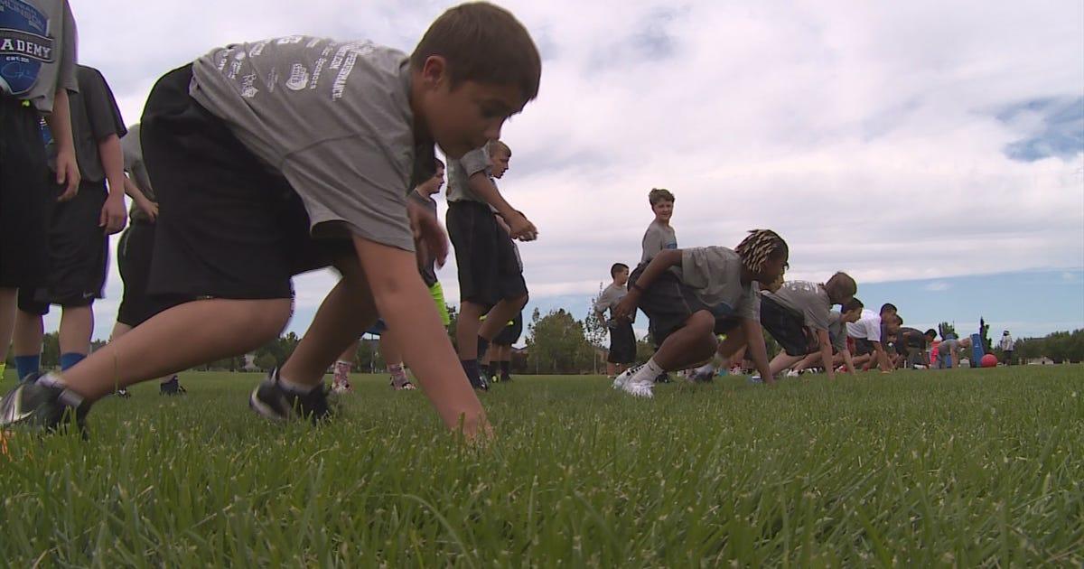 Former Nfl Running Back Ladanian Tomlinson Hosts Football Camp