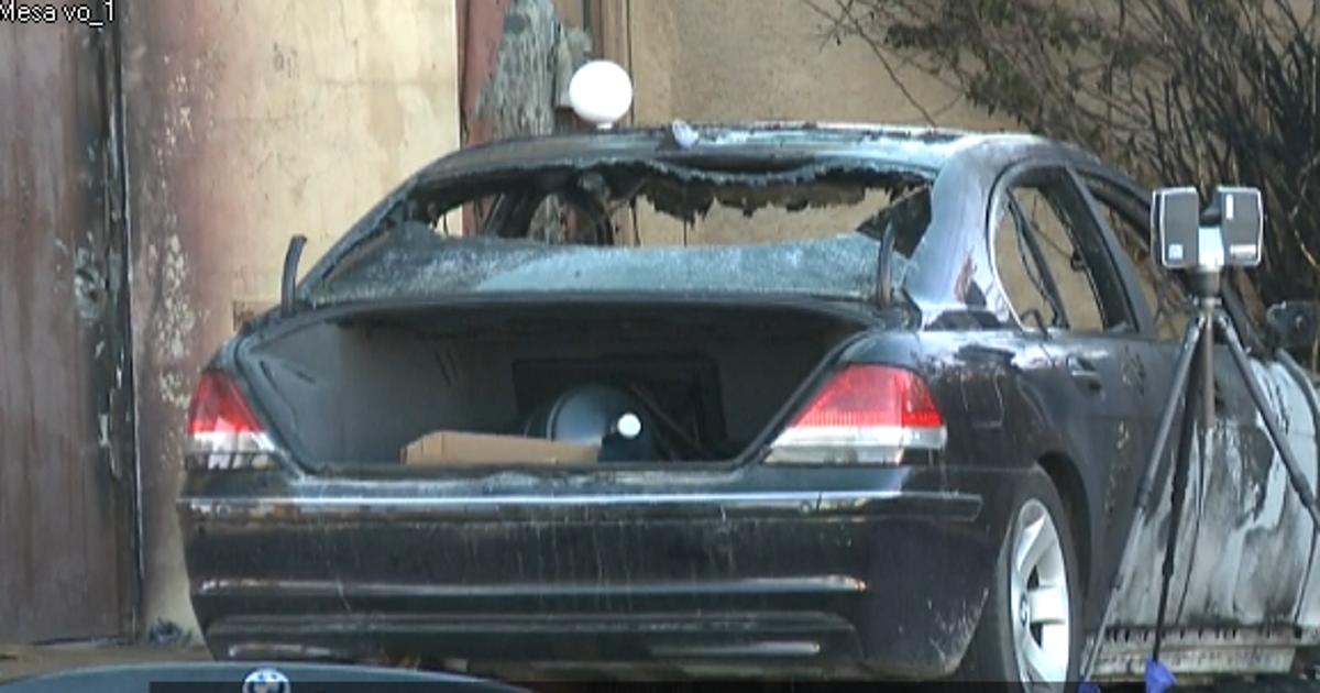Body Found In Burning Car In Scottsdale