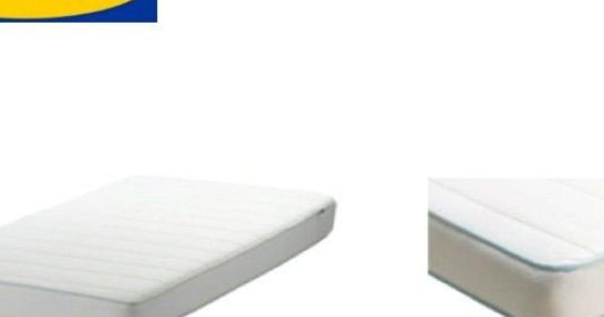 ikea crib mattresses recalled possible hazard
