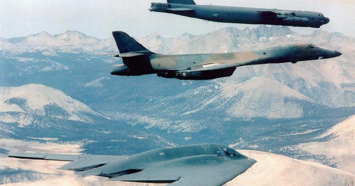 Northrop grumman wins air force s long range strike bomber for B b contract