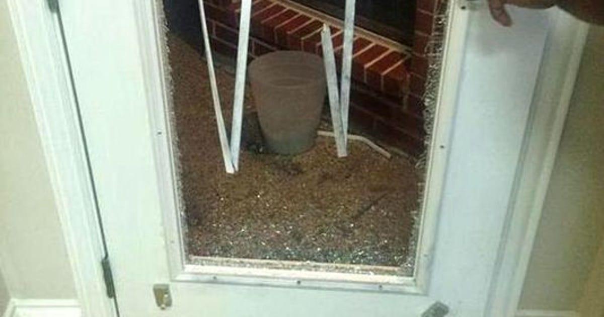 Alert burglars target glass back doors for Back door with glass panels