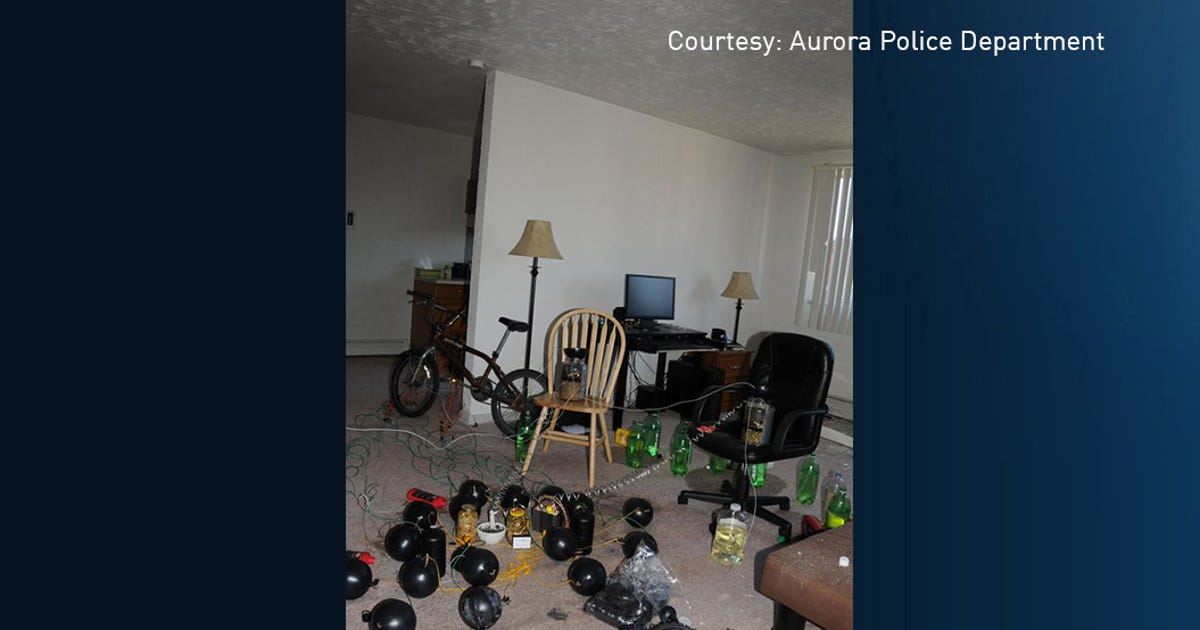 Inside the aurora theater shooter 39 s booby trapped apartment for Apt theater schedule