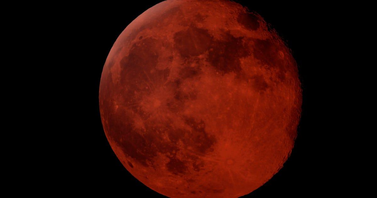 blood moon tonight washington - photo #28