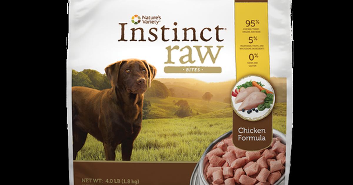 Instinct Dog Food Recall