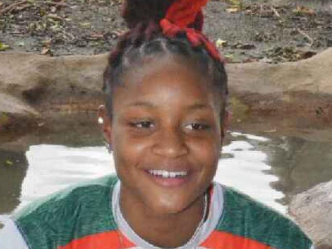 Dunbar junior Dekeriya Patterson
