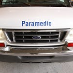 Stock image of ambulance from KARE.