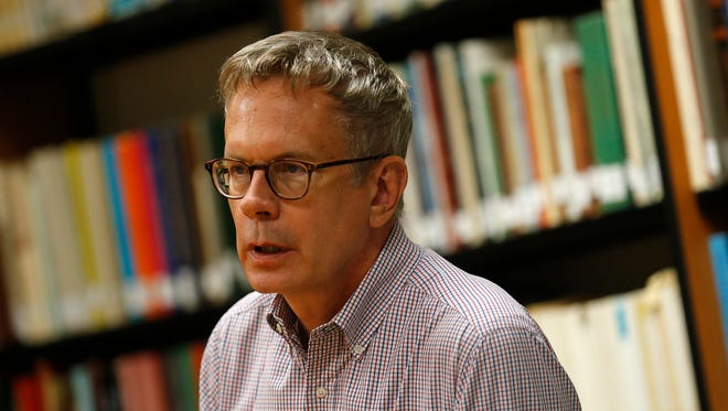 San Juan College Library Director Christopher Schipper has been named the New Mexico Academic Librarian of the Year by the New Mexico Consortium of Academic Libraries.