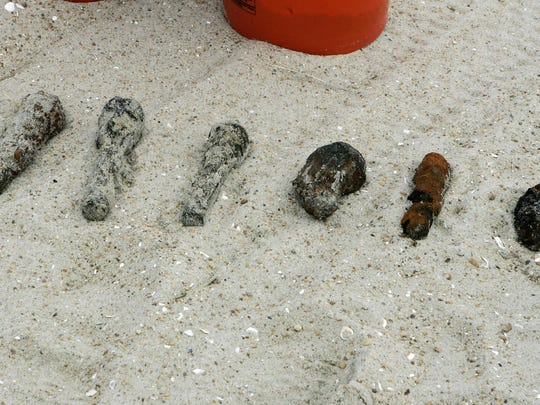 Unexploded Beach Ordnance (4)