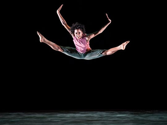 Jacquelin Harris is among the high flyers of the Alvin Ailey dance company.
