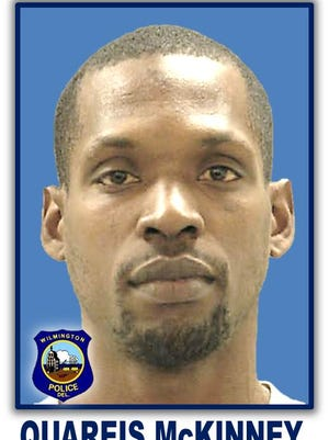 Quareis McKinney, 28, is wanted by Wilmington police for a theft from a vehicle which occurred Tuesday.