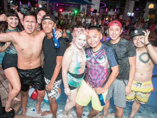 Maya Day + Nightclub was packed as partygoers attended