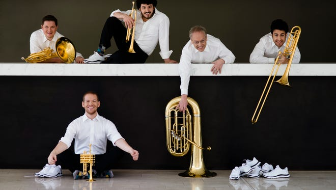 Canadian Brass to perform at First Methodist Church this weekend.