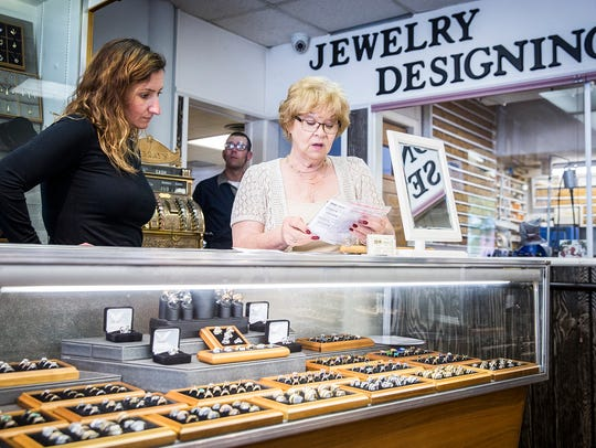 Murray's Jewelers showcases their Tulip Collection.