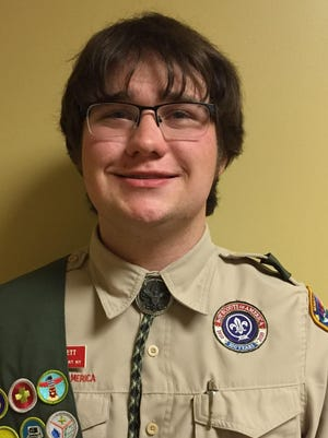 Evan Burnett of Fairport, a member of Troop 208, sponsored by Fairport United Methodist Church, built and installed three benches in Center Park.