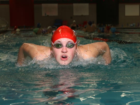 SPASH junior Julia Stupar is the defending Wisconsin Valley Conference champion in the 200-yard individual medley and 100  butterfly.