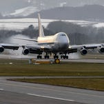 Four-engine aircraft, such as the Boeing 747, can often continue at altitude when two engines fail, and pilots practice the maneuver in training.
