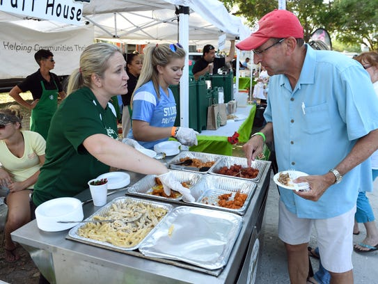 The Taste of St. Lucie is a fundraiser for Big Brothers