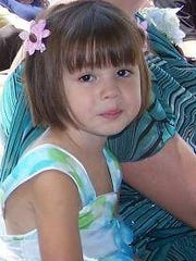 Mia Parcells, 3, of Hilton, was killed by her father,