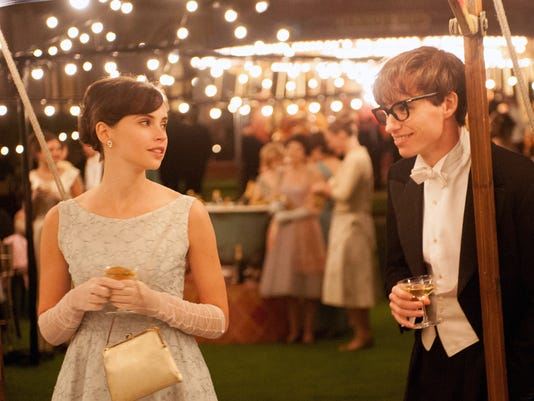 Redmayne transforms into Hawking for the inspiring, entertaining 'Theory of Everything'