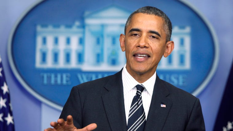 President Obama said the United States cannot have