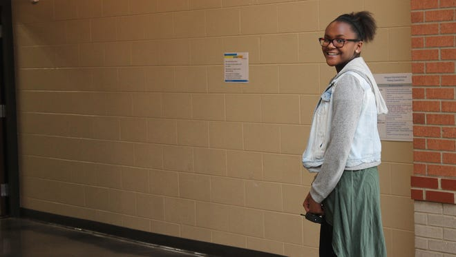 Antonesia Overton, a sixth-grader at Hobgood Elementary, won an essay contest to become principal for a day.