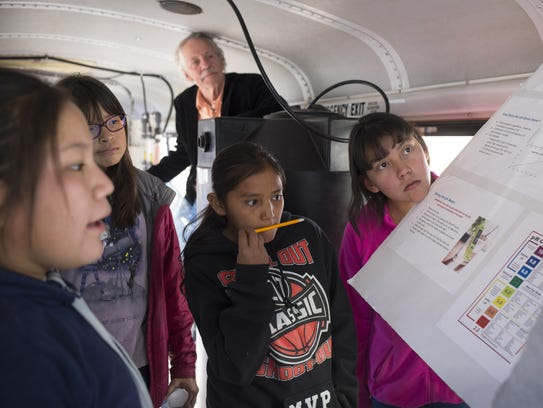 Star School students learn about how water is purified