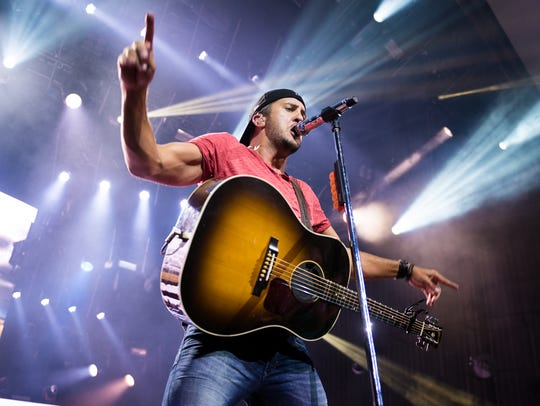 Luke Bryan at Riverbend.