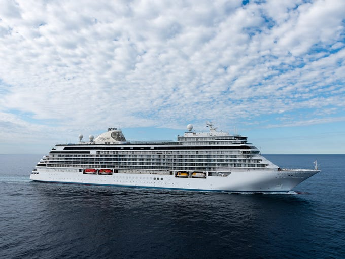 Billed as the most luxurious cruise ship ever, the
