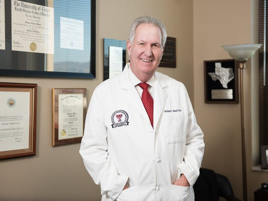 Richard Black, D.D.S., M.S., has practiced dentistry in El Paso for nearly 40 years.