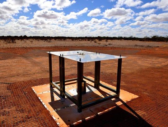 A ground-based radio spectrometer in Western Australia